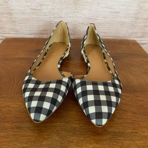 J. crew gingham shoes- great for spring!!!